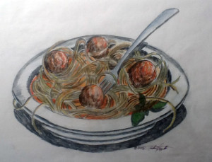 AfAH ACappetto Spaghetti Color Sketch for Festival use