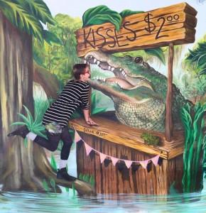 Chelsea alligator