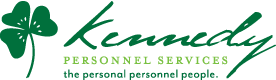 Kennedy personnel services, logo