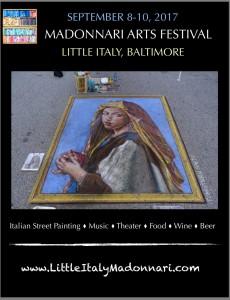 Madonnari 2017 full page ad poster