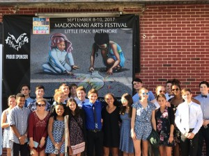 Park School A Capella Ensembles at Madonnari Arts Festival 2017