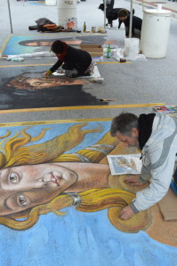 Our Madonnari from Florence, Italy