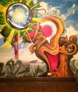 John Gingrich mural