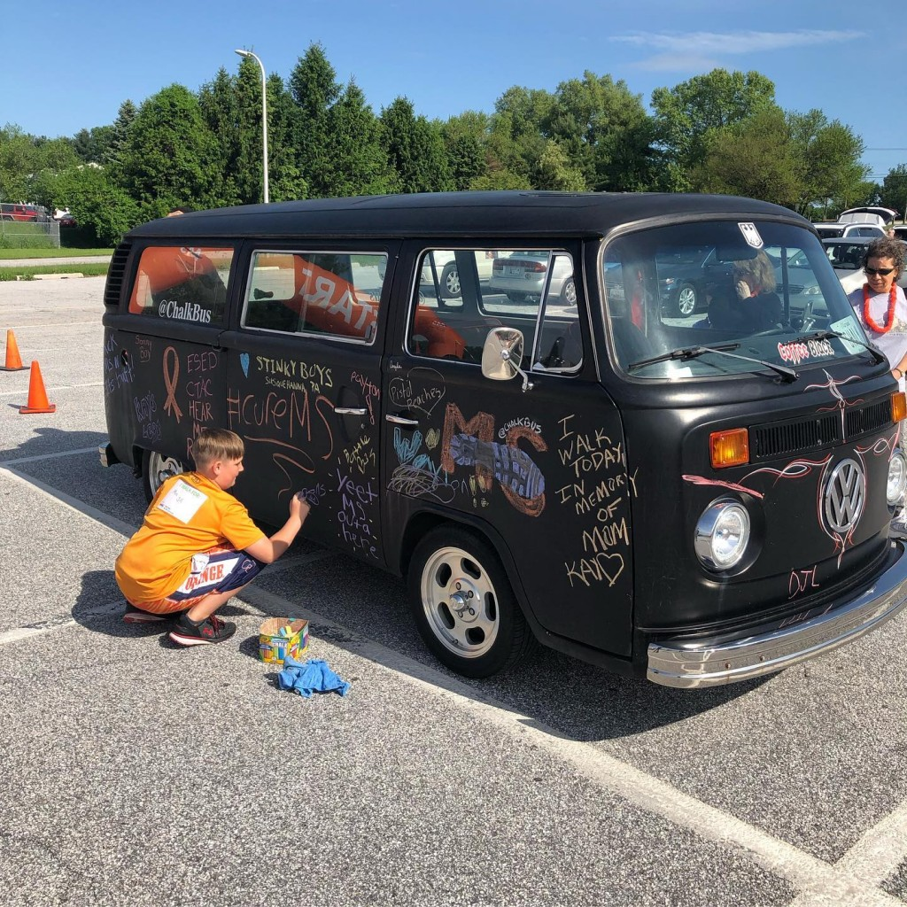 chalk bus